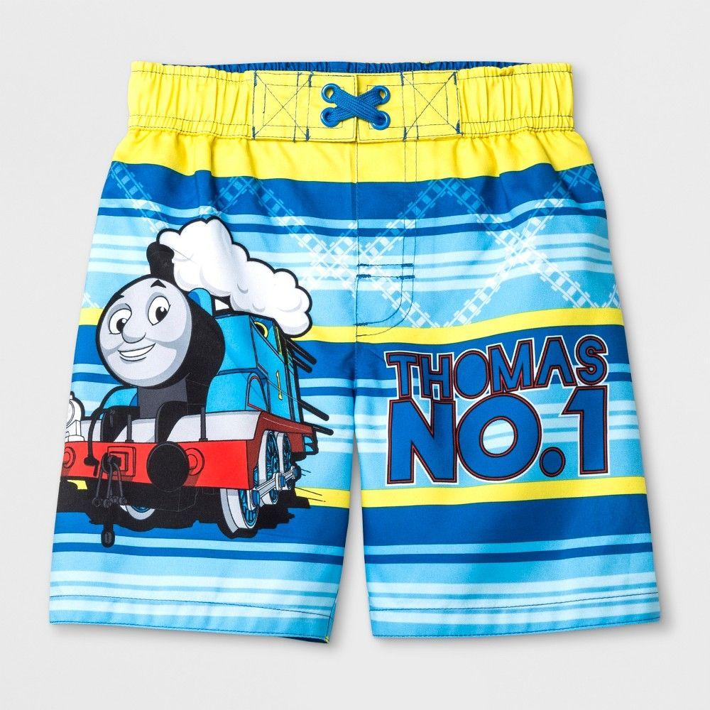 29e449942d Toddler Boys' Thomas & Friends Swim Trunks - Blue 2T | Products ...