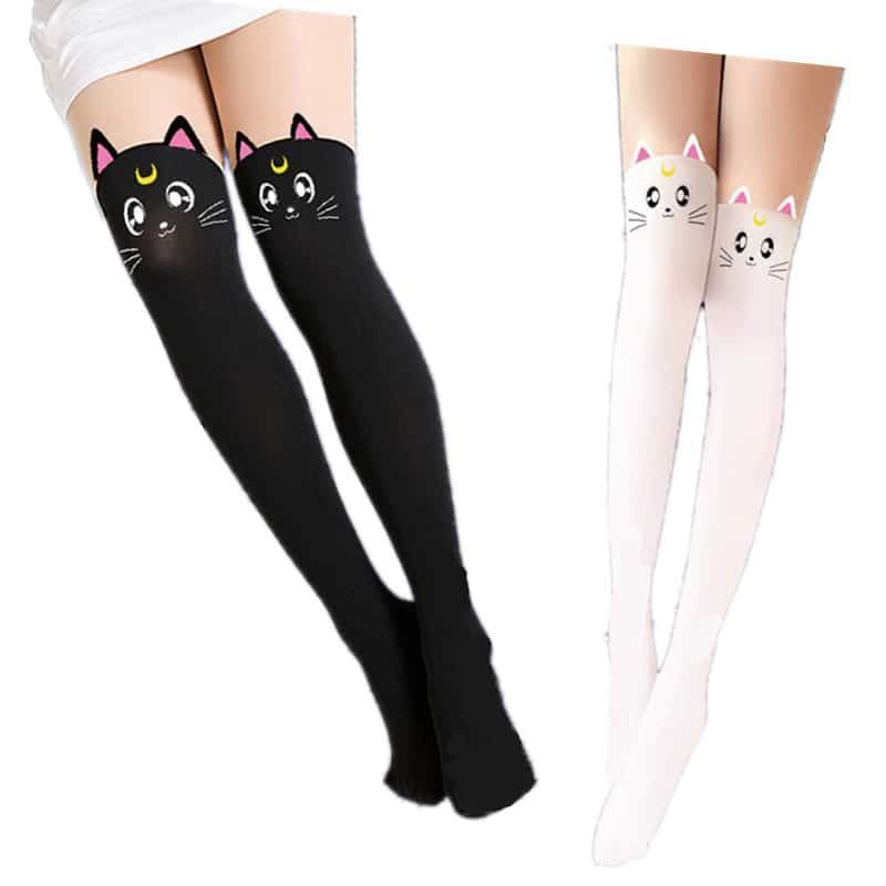 1bd942f85822a Sailor Moon - Artemis/Luna Stockings - Tokyo Depot | Catwoman ...