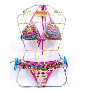 db68f11d3c78 bikinis bordados | Vienen con aplicaciones de lentejuelas ...