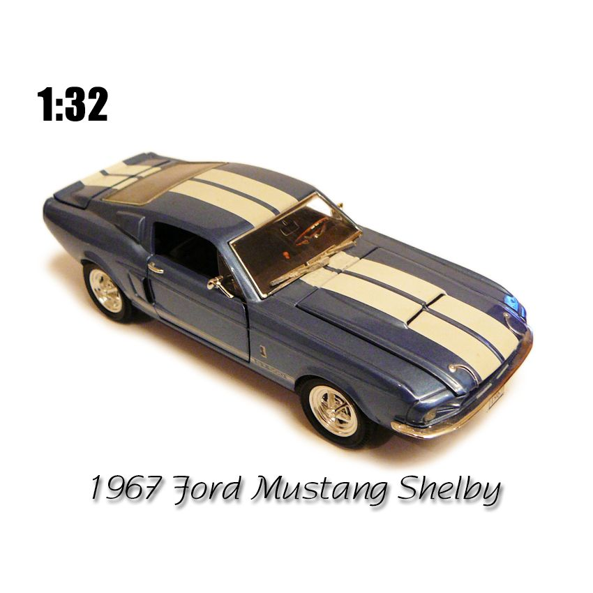 1967 Ford Mustang Shelby Gt 500 Muscle Car Toy Car Model Models Toys