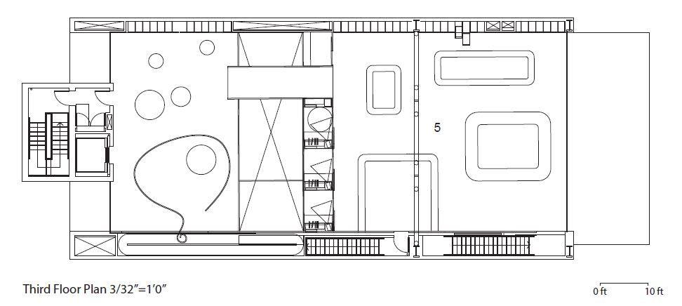 Prada Store Third Floor Plan Store Plan Store Layout Floor Plans