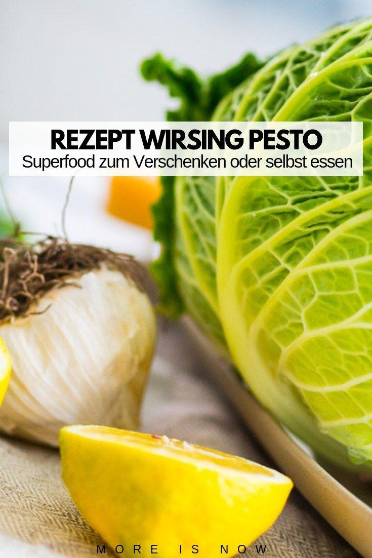 DIY Wirsing Pesto unverschämt lecker – das weihnachtliche Superfood der Extraklasse - More is Now