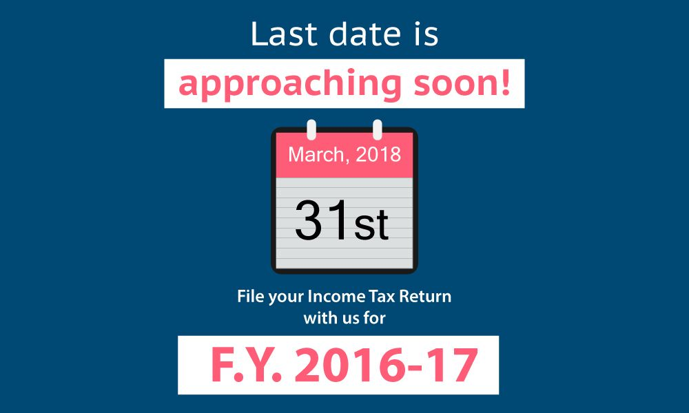 The last date to file your previous income tax returns is ...