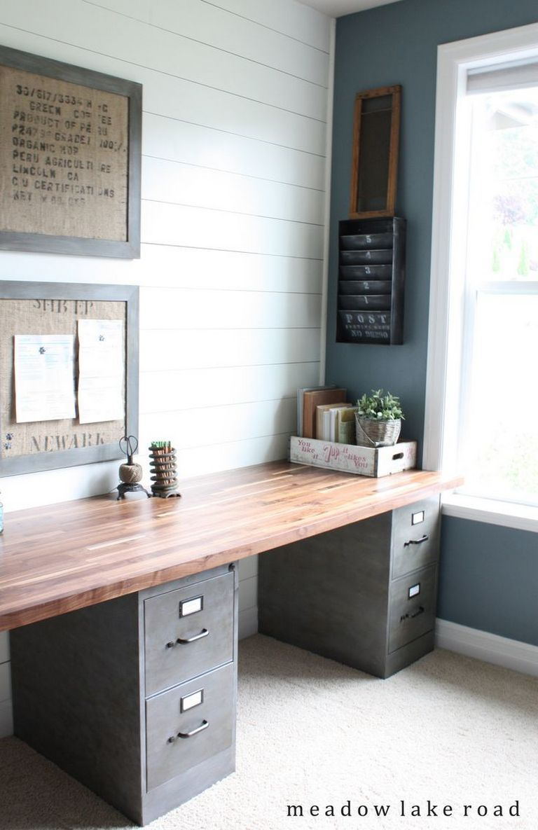 Ideas To Home Office You And Your Partner Work Together Do You Like To Bring Work To Home Or Even Work Tog Home Office Design Home Office Decor Home Projects