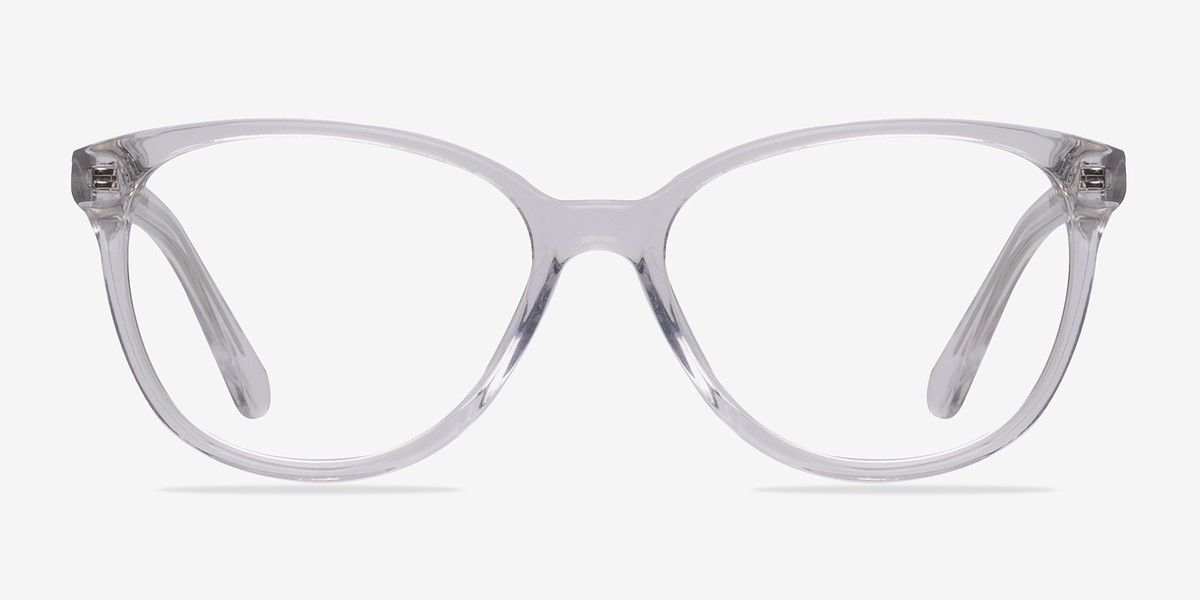 ad6101eccca4 Hepburn Clear White Acetate Eyeglasses from EyeBuyDirect. A fashionable  frame with great quality and an affordable price. Come see to discover your  style.