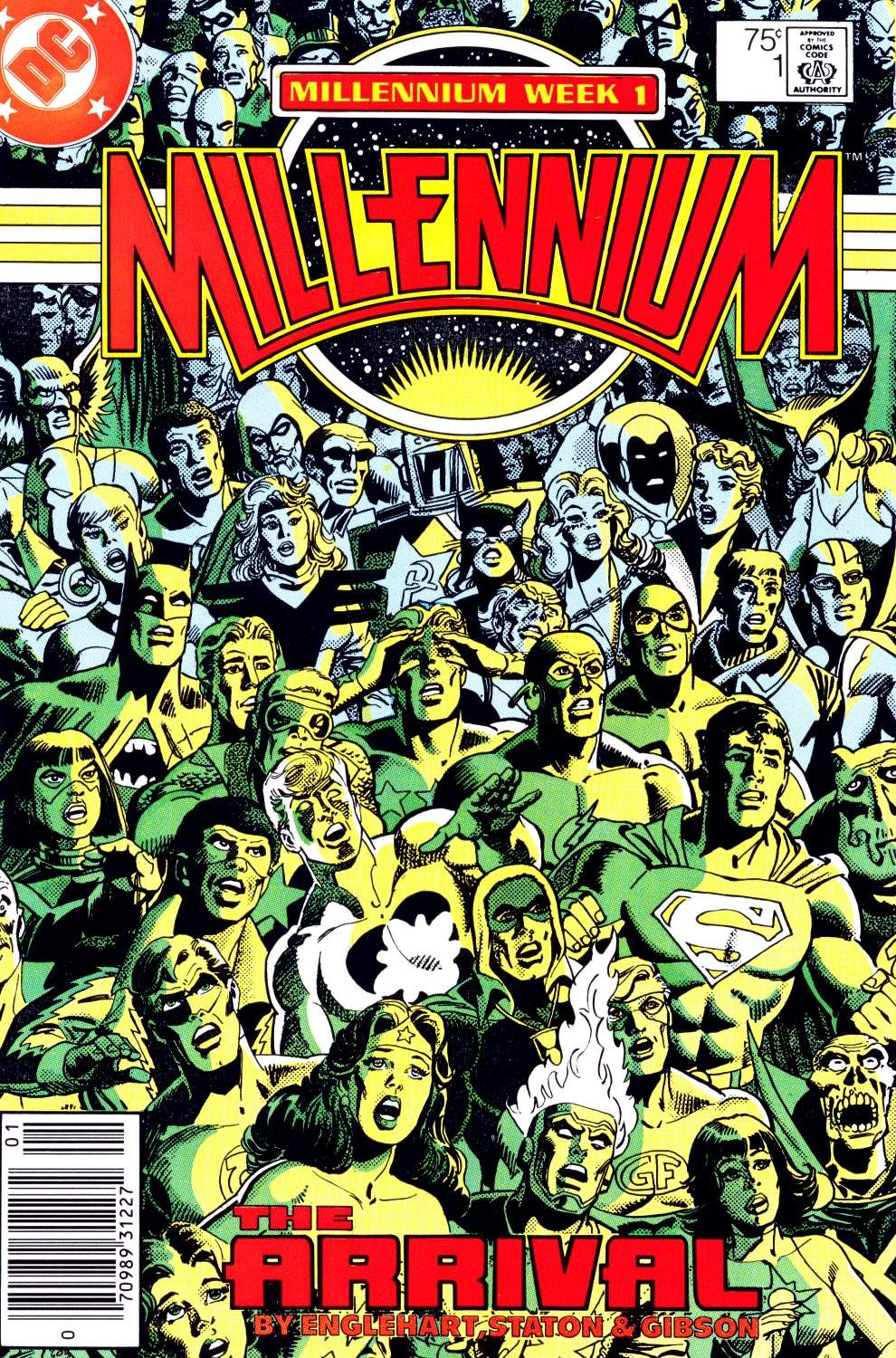Millennium N°1 (January 1988) Cover by Joe Staton and