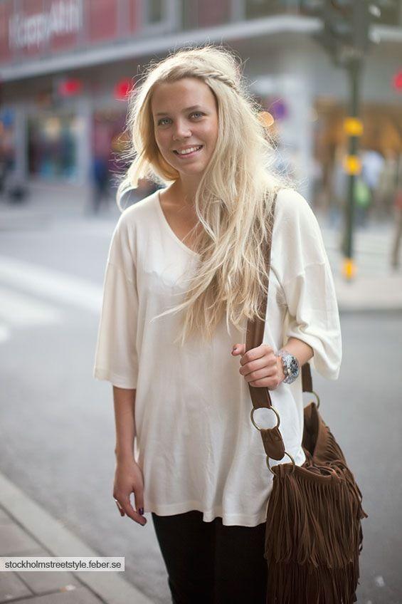 Stockholm Street Style 4 July Braids Jpg Weissblonde Haare Frisuren Fur Die Arbeit Lange Blonde Haare
