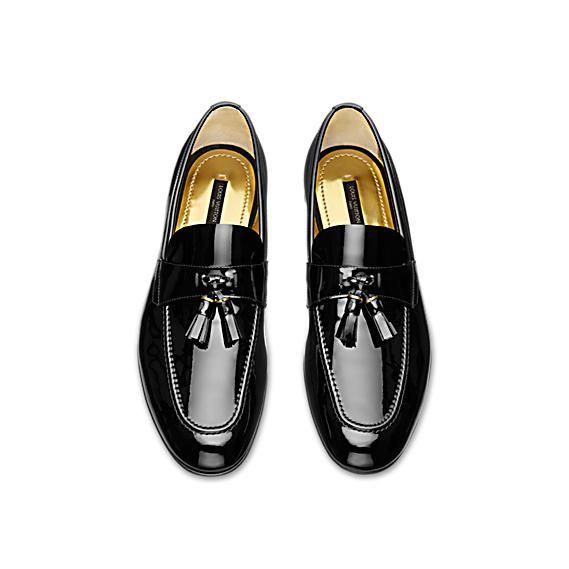 Smoking loafer - Shoes   LOUIS VUITTON   Men s Footwear   Shoes ... 4dd37559452
