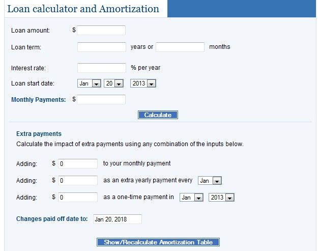 Loan Calculator Http Www Bankrate Com Loan Calculator Mortgage Loan Calculator Loan