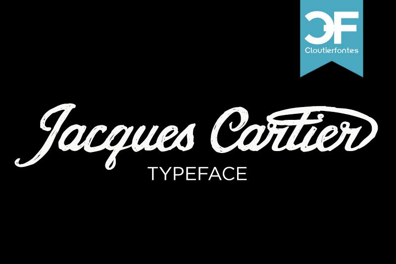CF Jacques Cartier Font | dafont.com