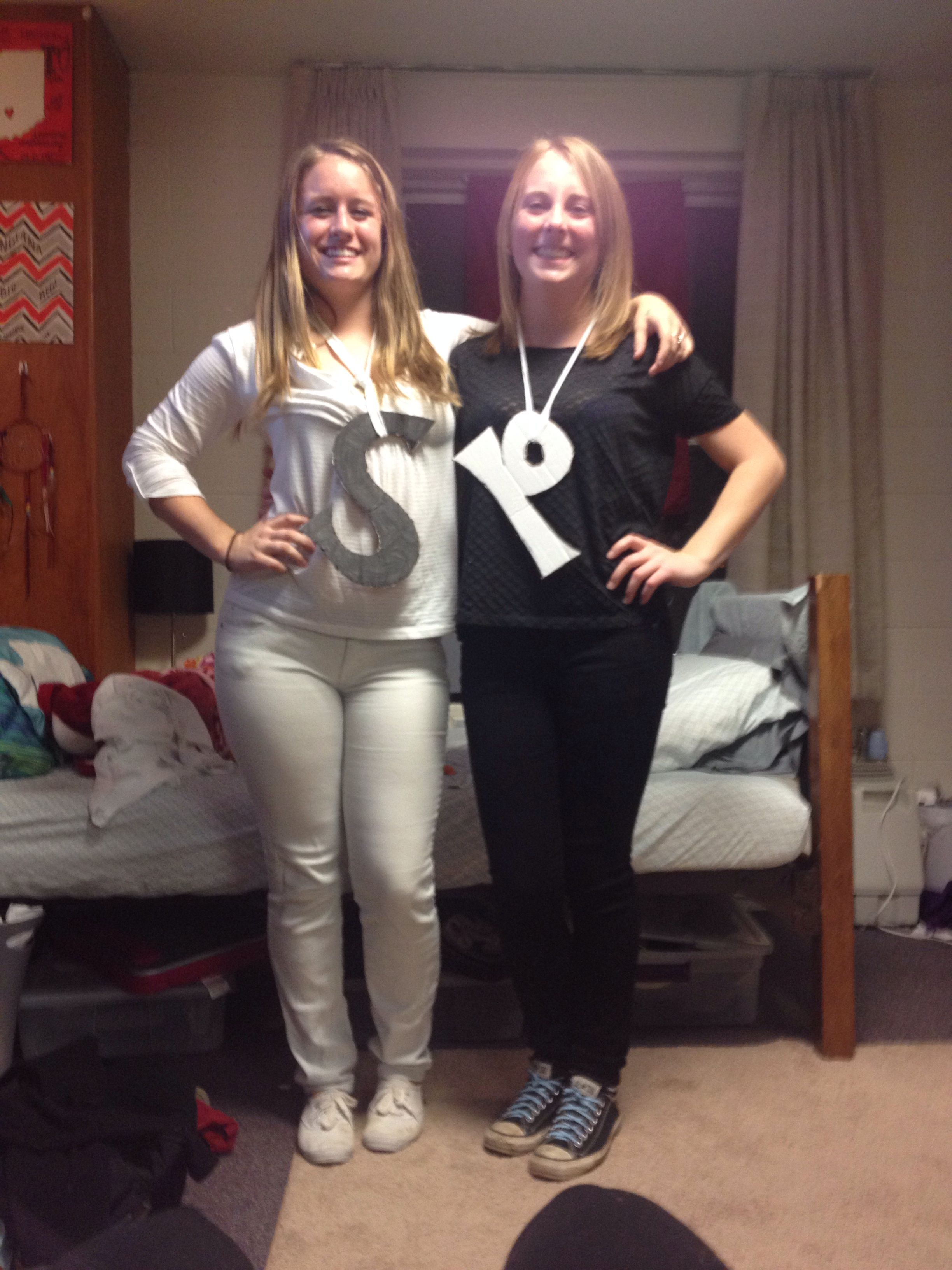 salt and pepper halloween costume | halloween costume ideas