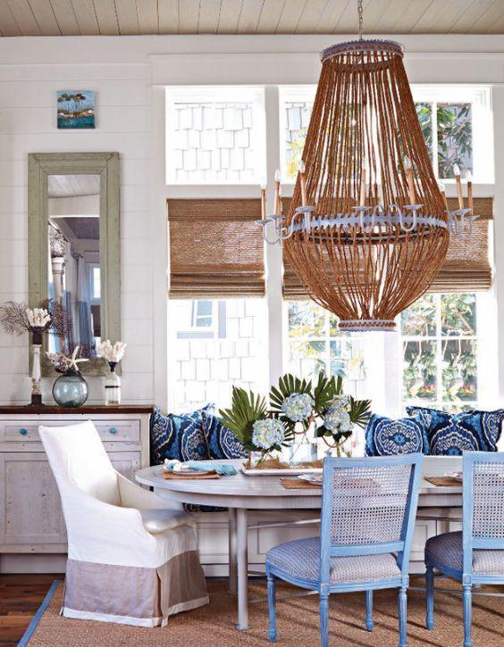 Decoración de comedores con color azul | Pinterest | Diseños de ...