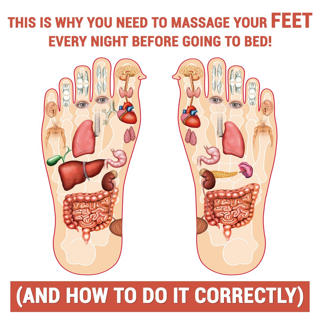 Here's Why You Should Massage Your Feet Every Nigh