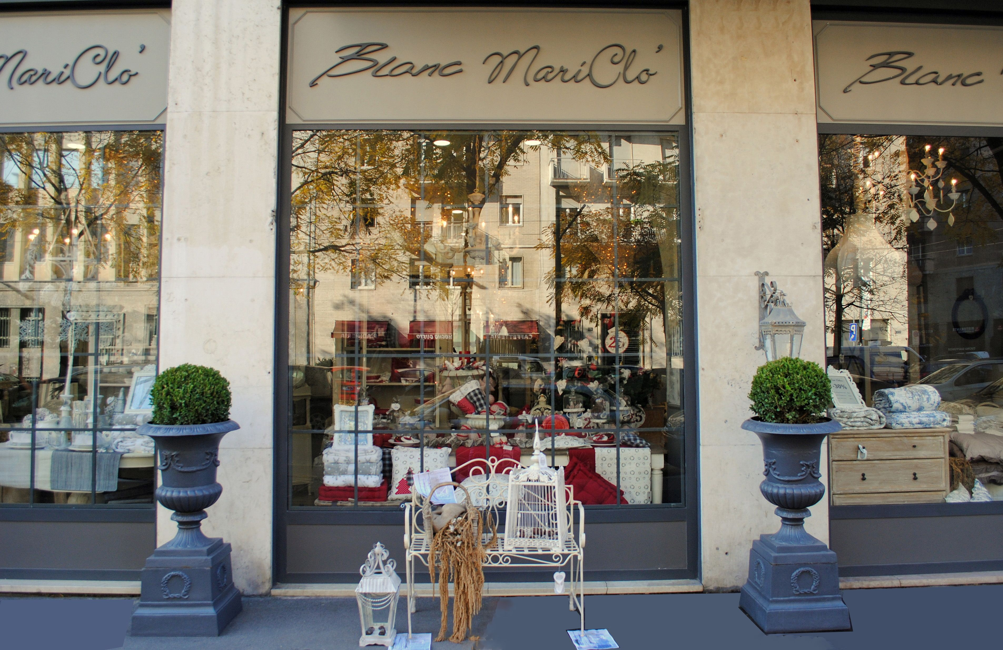 Il Natale Blanc Mariclò a Milano   Shabby Chic Mania by Grazia ...