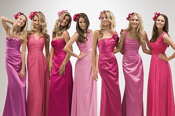 Bridesmaids Dresses 2012 Rose Bridesmaid Dresses Pink Bridesmaid Dresses
