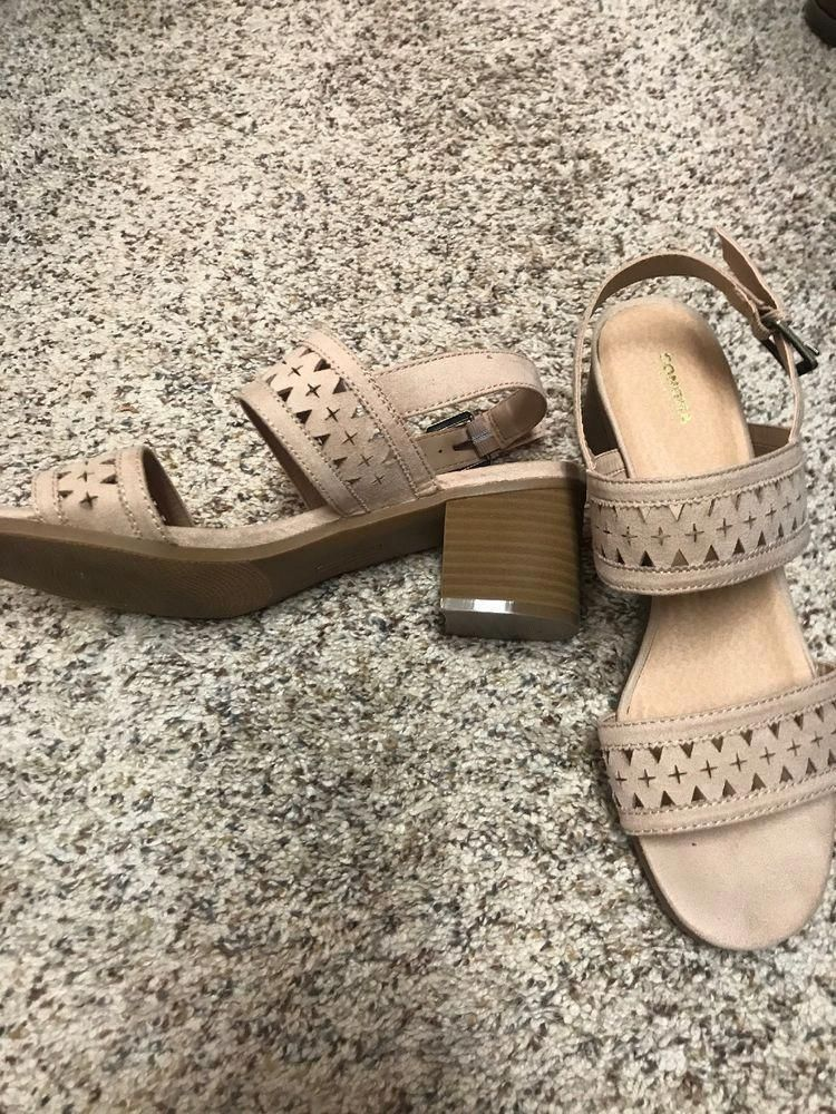 bd380b572da Sonoma Sandal With Heel  fashion  clothing  shoes  accessories  womensshoes   sandals  ad (ebay link)  WomensshoesExtraWideWidth