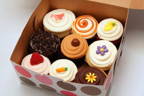 Cupcakes time!