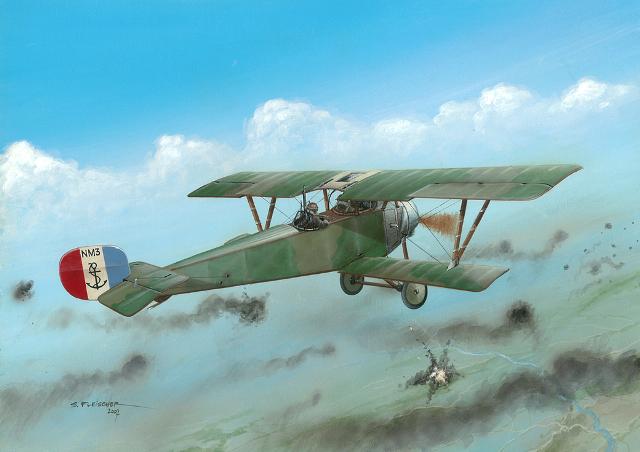 Nieuport 12 by Seweryn Fleischer | War Wallpapers