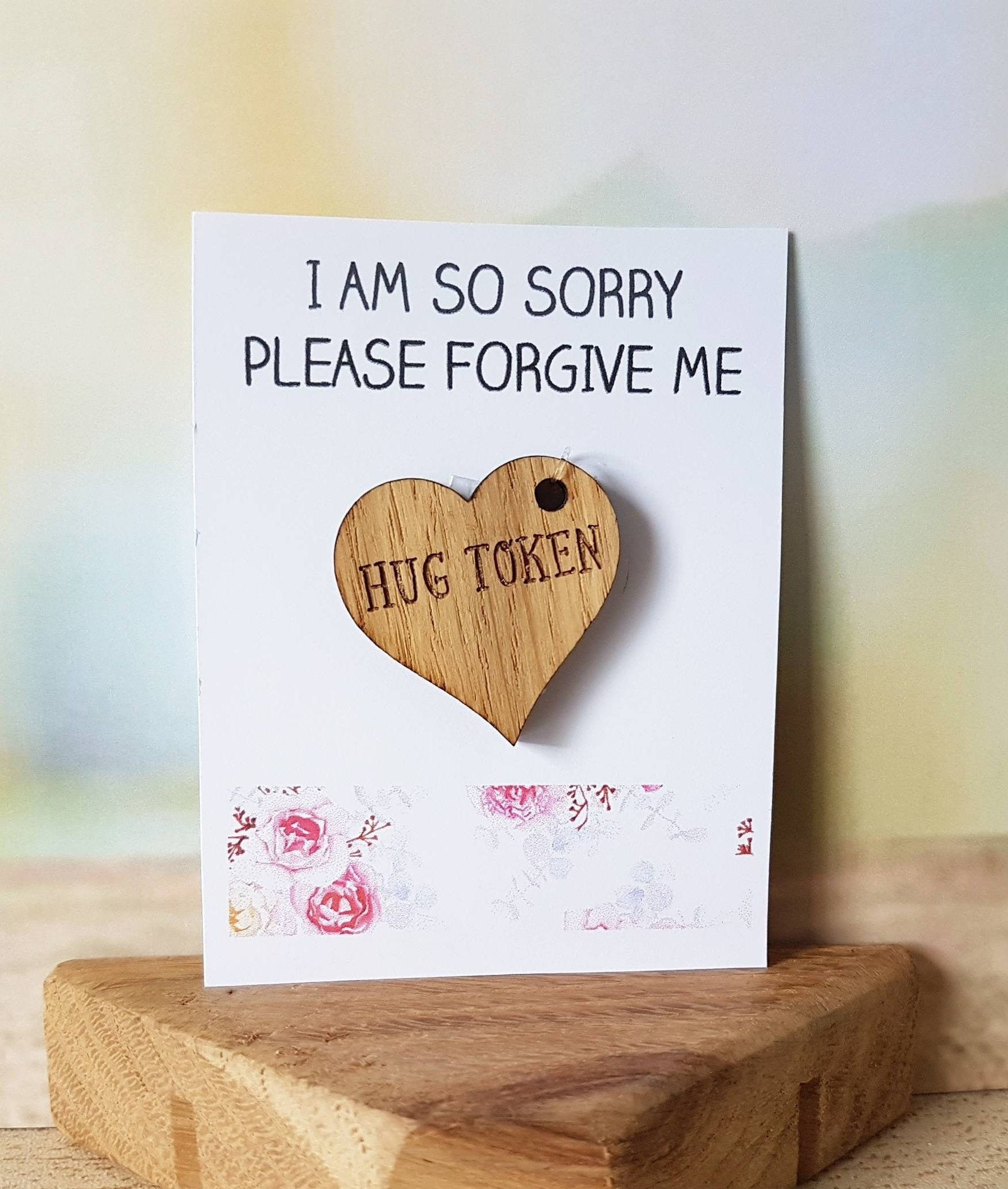 Apology gift im sorry sorry card i am sorry sorry