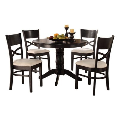 Woodhaven Hill Clancy 5 Piece Dining Set U0026 Reviews | Wayfair
