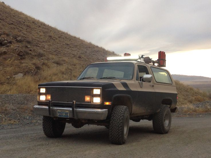New Roof Rack And Led Light Bar Installed Classic Chevrolet