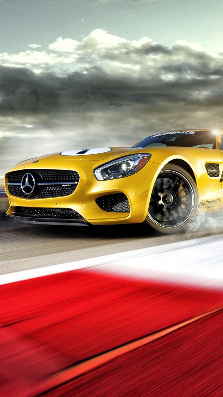 Yellow mercedes car wallpaper mercedes gold car yellow wallpaper iphone