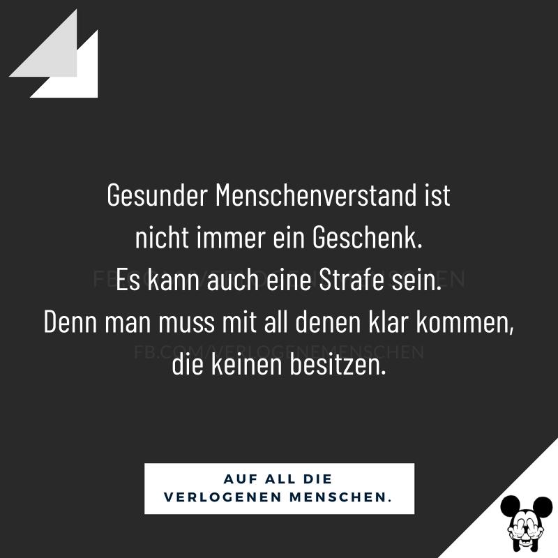- Falsche Menschen / Freunde / Lustig / Spruch des Tages