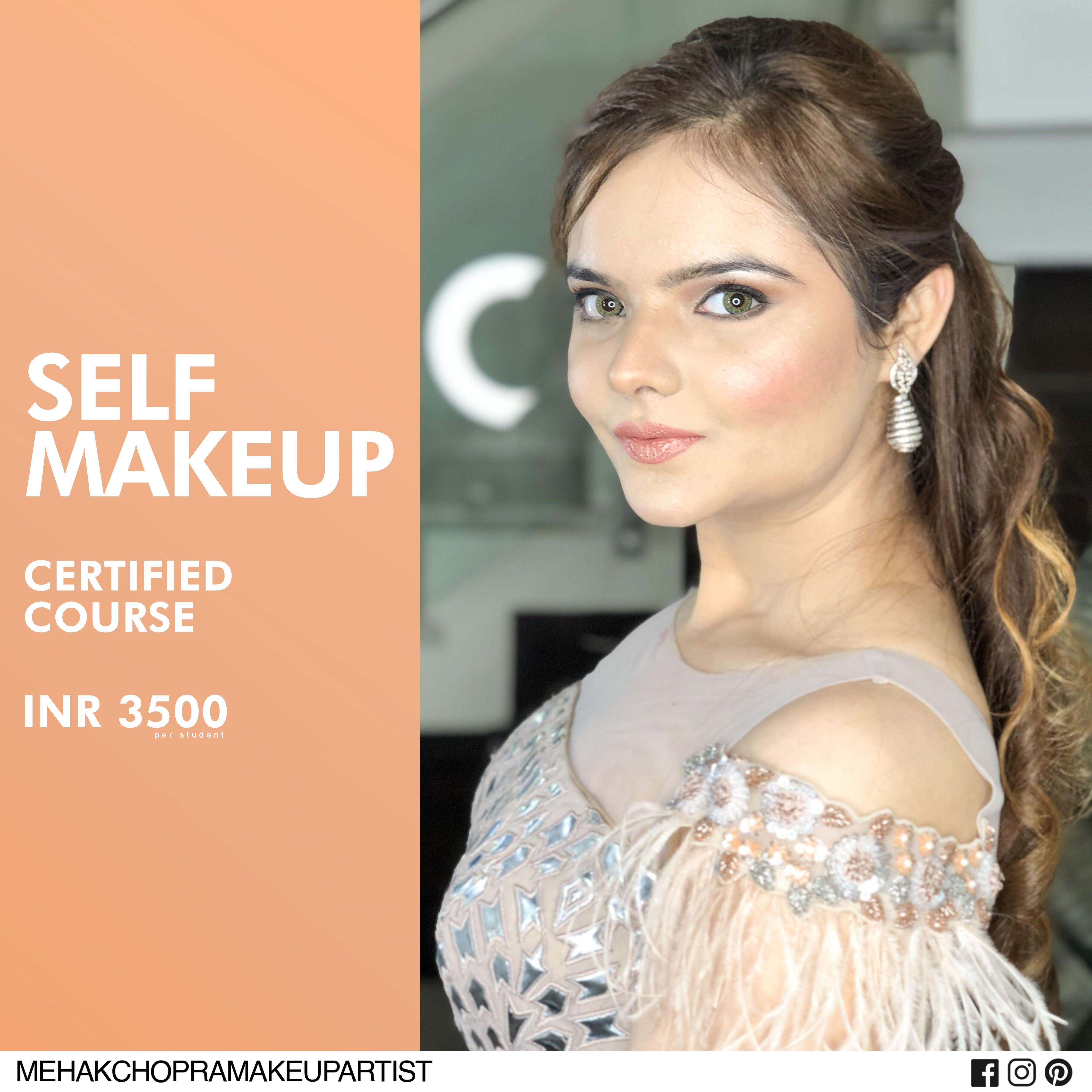 Looking for best Self Makeup classes with intense practice