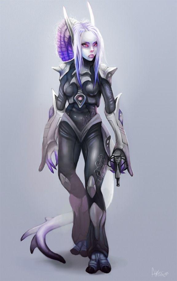 Female Alien In 2019 Alien Character Character Art