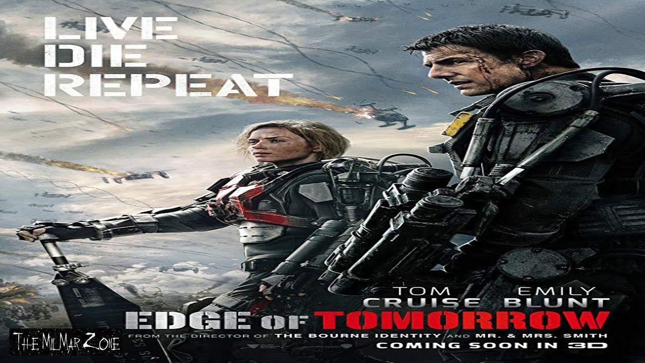 Edge Of Tomorrow 2014 A Time Travel Movie Trailer In 2020 Edge Of Tomorrow Best Alien Movies Tom Cruise