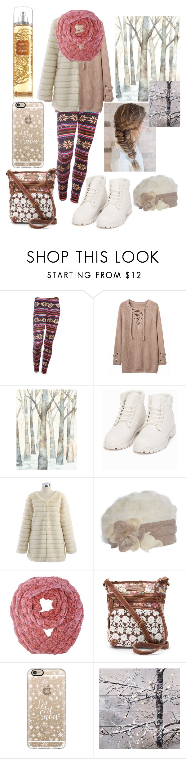 """""""Light winter"""" by ingridmv ❤ liked on Polyvore featuring Nly Shoes, Chicwish, UNIONBAY, Casetify, Winter and light"""