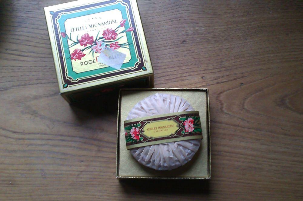 Vintage Roger Gallet Carnation Soap In Original Box Ebay