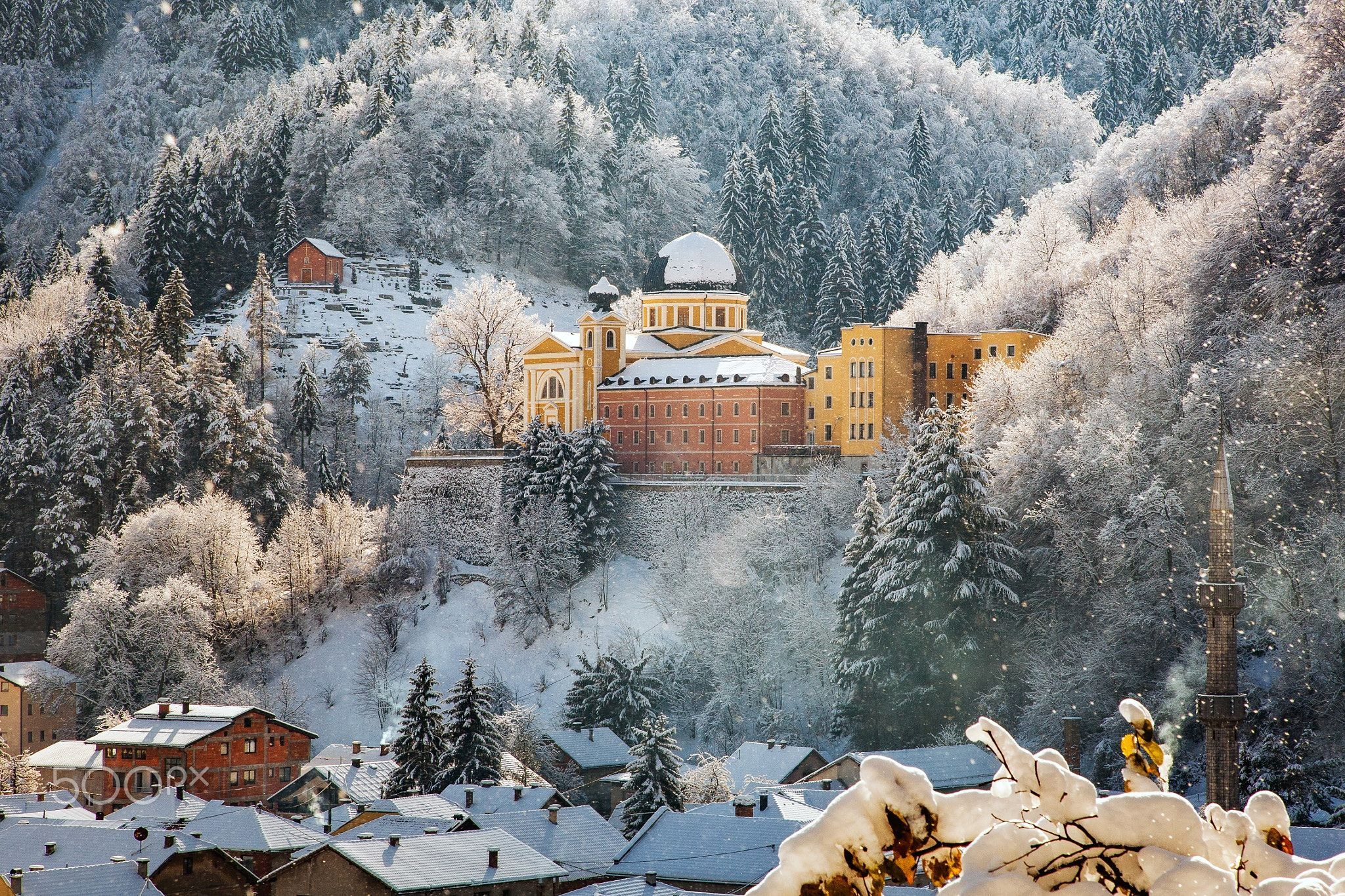 Color art fojnica - Towards Christmas Franciscan Monastery Of The Holy Spirit Is A Bosnian Franciscan Monastery In Fojnica