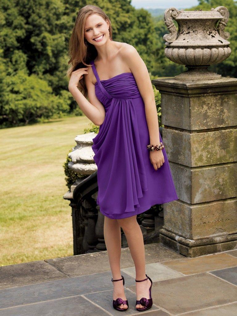 Purple Bridesmaid Dress Really An Interesting Pin