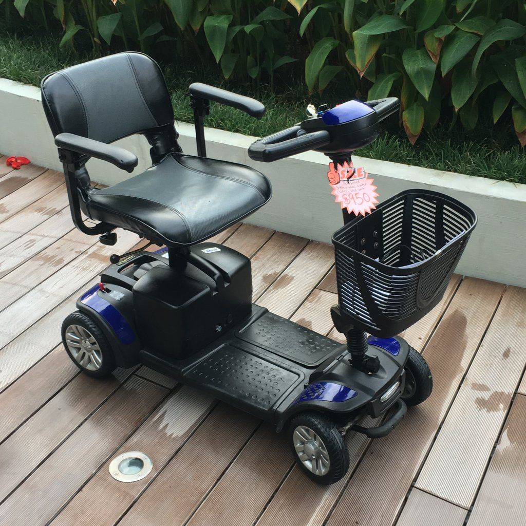 PreLoved Spitfire 4Wheel Mobility Scooter 950 (With