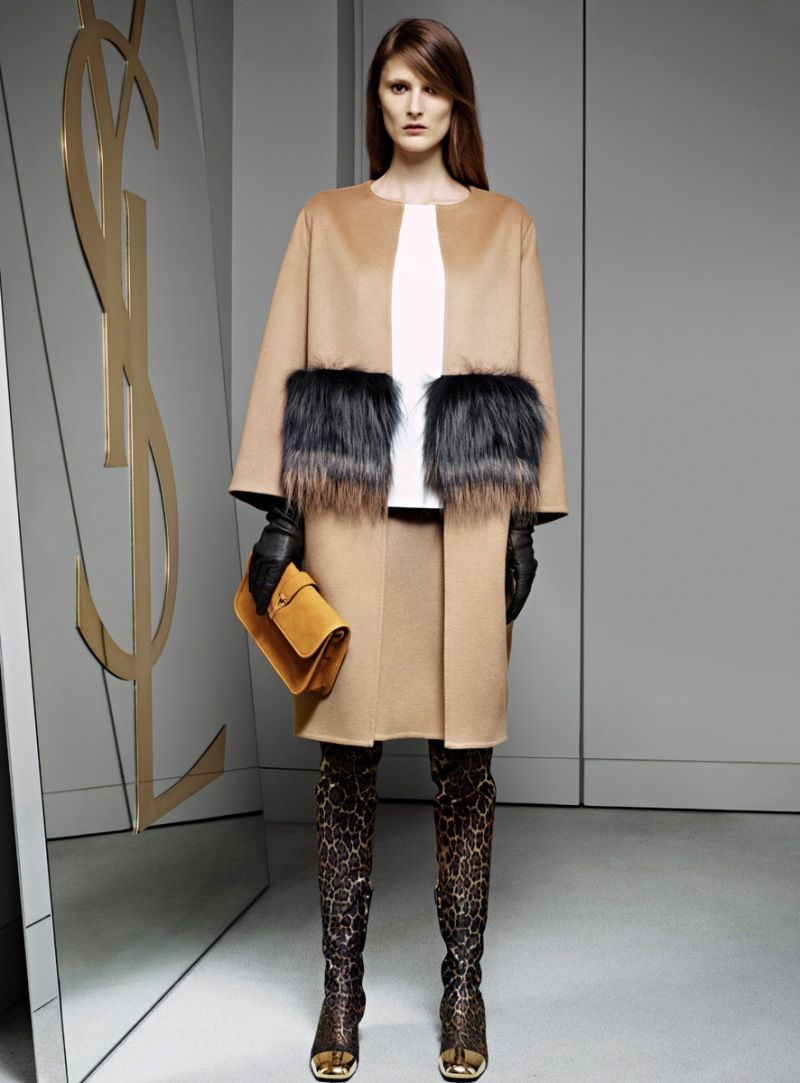 the boots the bag the shoes... lovin' YSL pre-fall