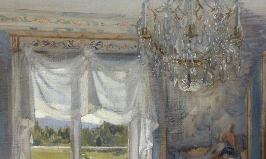 Fanny Brate, A Day of Celebration, details, 1902