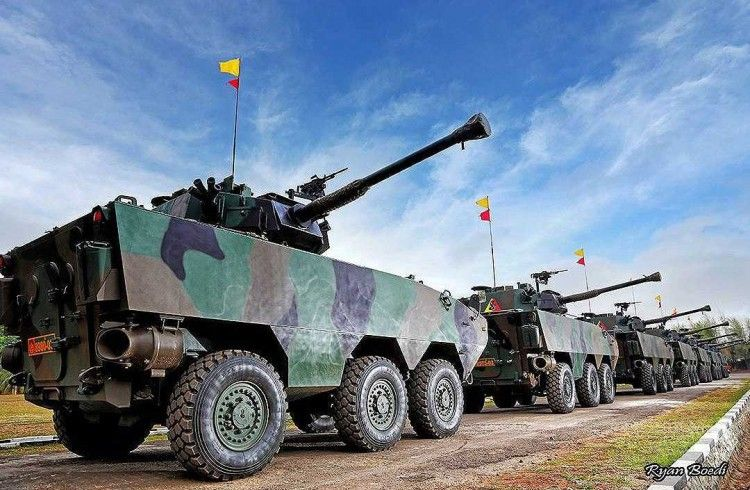 Panser Tarantula Tni Ad Kendaraan Militer Militer Kendaraan