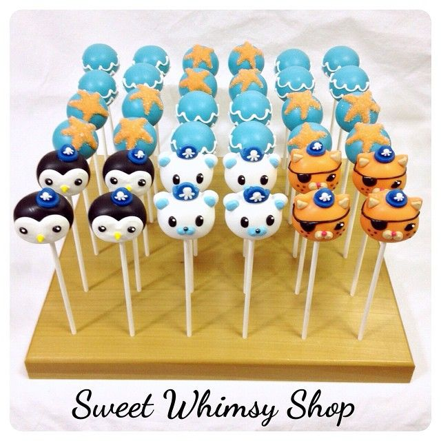 How Ace Are These Octonauts Cake Pops From Sweet Whimsy