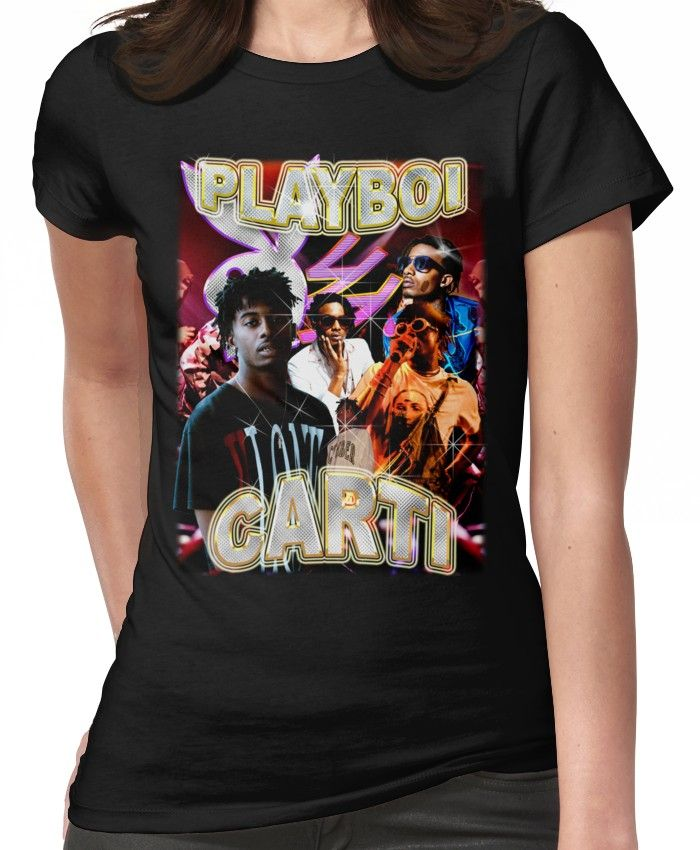 94903f33 Vintage Playboi Carti Illicit Epiphany   Fitted T-Shirt   Products ...