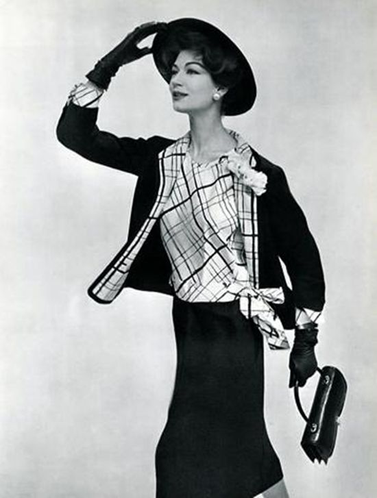 Chanel, 1957 photo by Philippe Pottier! a very good year and classic fashion.