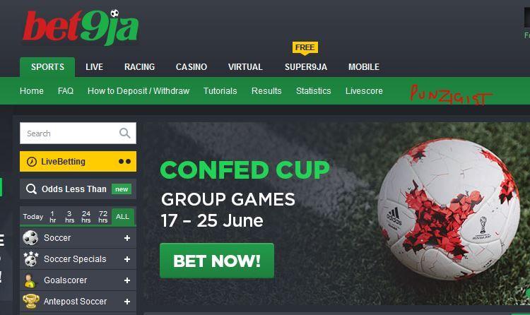 Bet9ja com - Bet9ja Nigeria Top Betting Site | Places to Visit