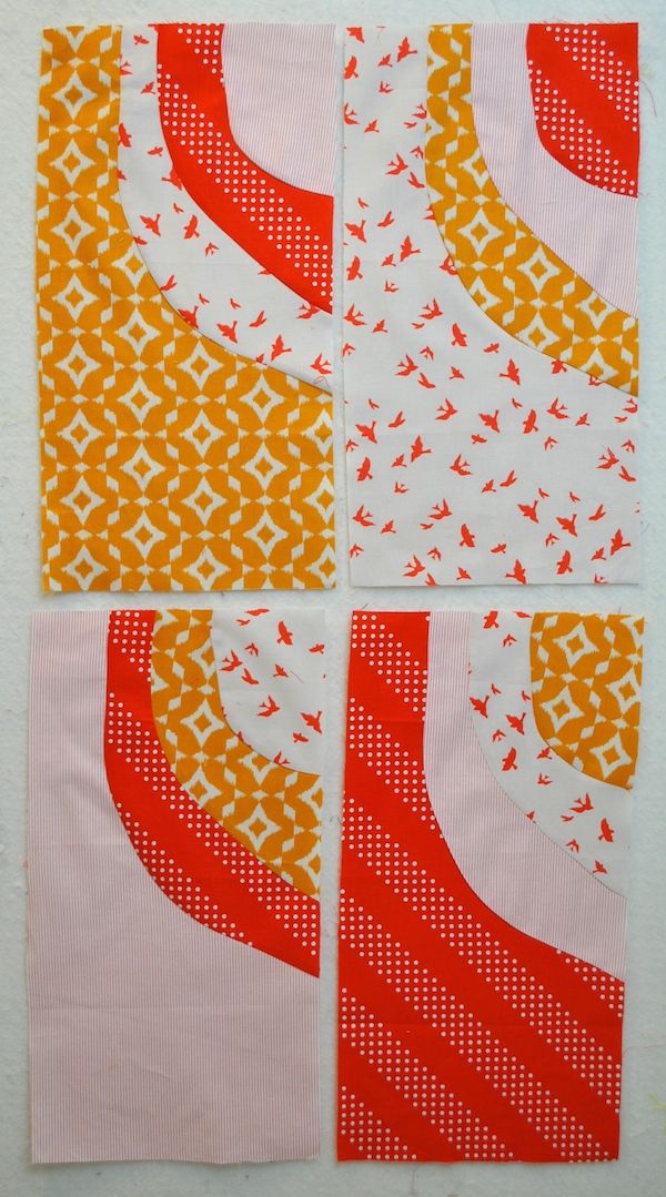 How to Sew Curved Quilt Blocks | Curves, Tutorials and Quilt tutorials : curved quilt blocks - Adamdwight.com