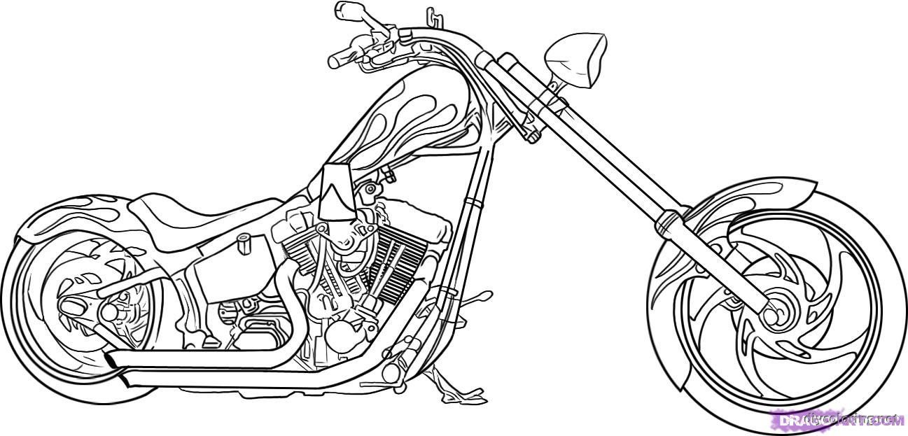 Motorcycle Coloring Pages Free Colouring Pages Motorbikes Excellent Coloring Pages Motorcycle Albanysinsanity Com Bike Drawing Motorbike Drawing Drawings