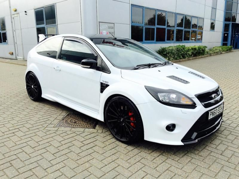 2010 60 Reg Ford Focus 2 5 Rs Frozen White 390 Bhp Dyno Toys Sat Nav United Kingdom Gumtree Ford Focus Ford Rs Ford Motorsport
