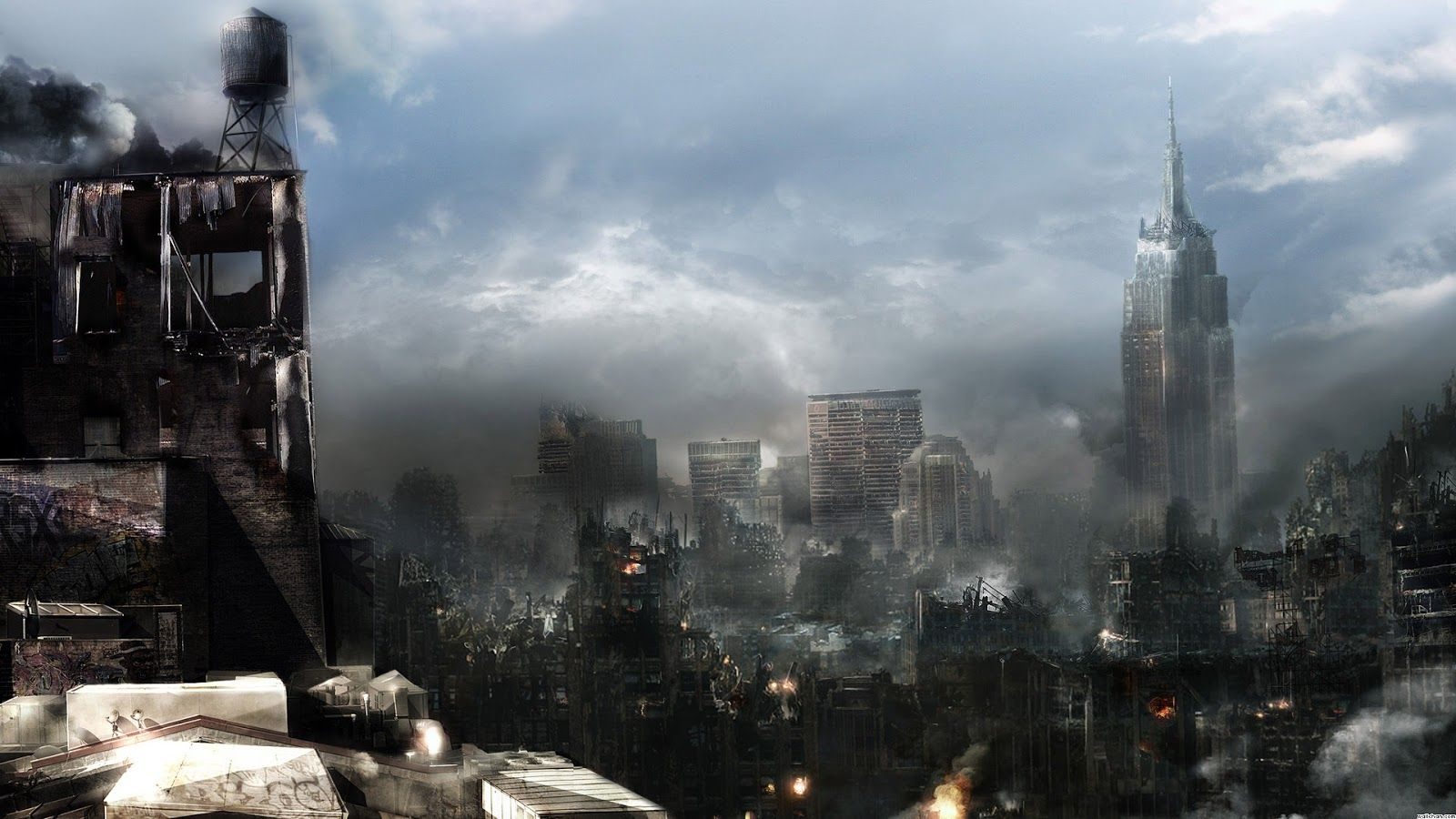 Ethereal Pages Dystopia The Fictional Society Built In Destruction World Wallpaper Future Wallpaper Space Fantasy