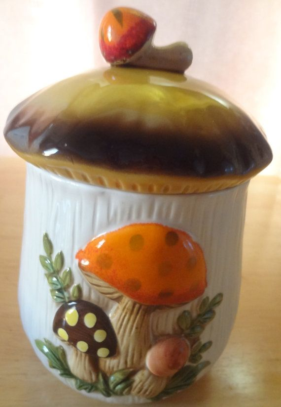 a mushroom canister