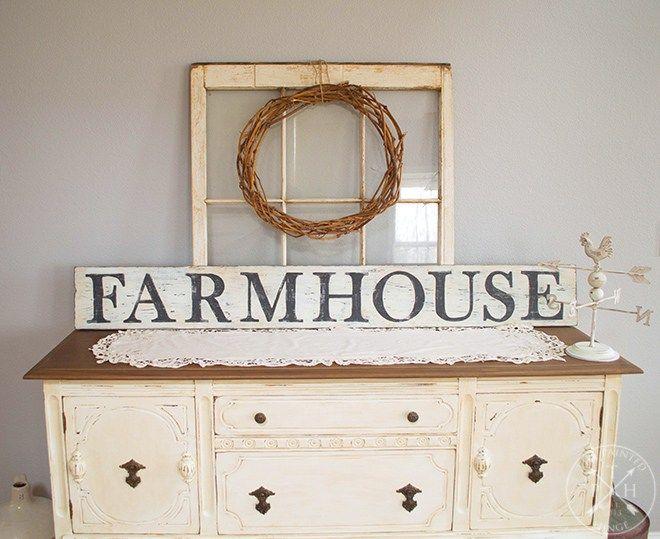 Free Printable Letters To Make A Farmhouse Sign Farmhouse Signs Printable Letters Painted Wood Signs