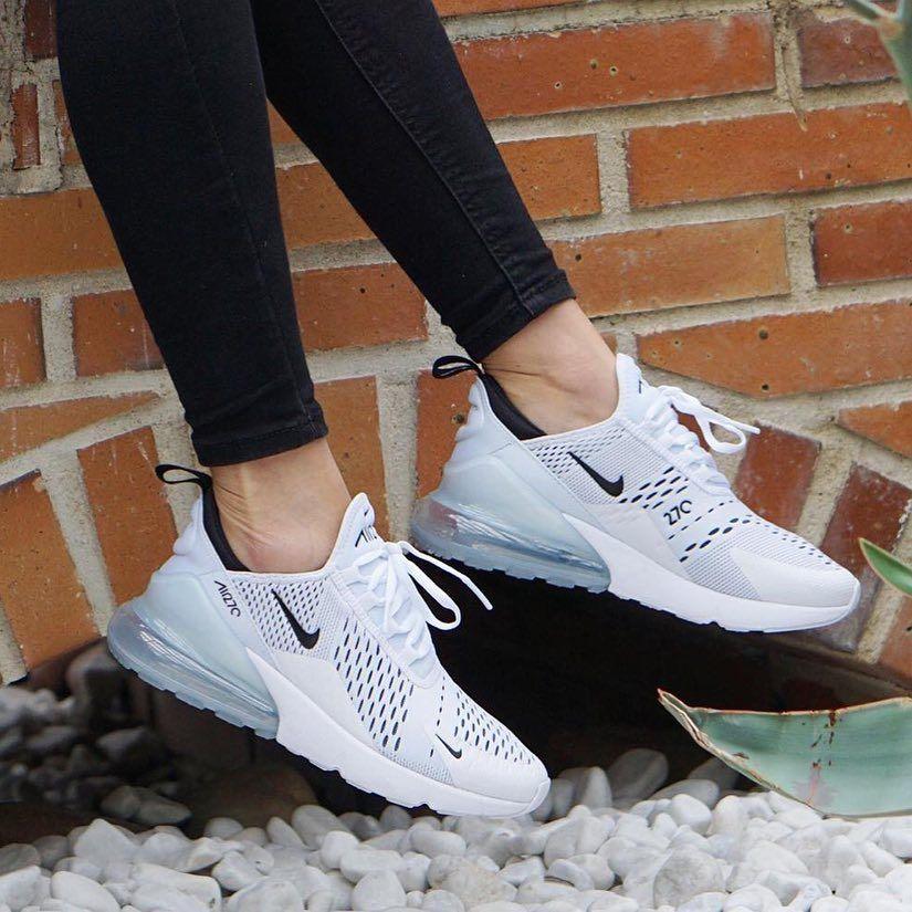 Nike Air Max 270 White Black Hier Kaufen Nike Air Schuhe Nike Air Max Weisse Nike Schuhe