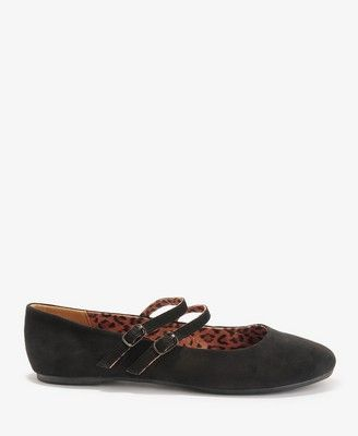 Buckled Ballet Flats Forever 21. who doesnt love a good mary jane?